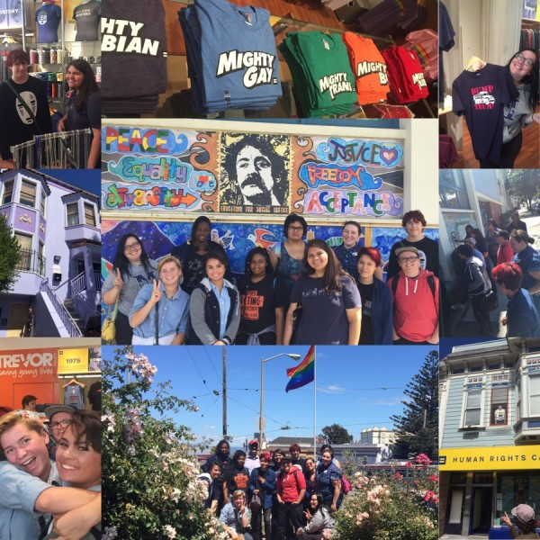 empowerment field trip to castro district