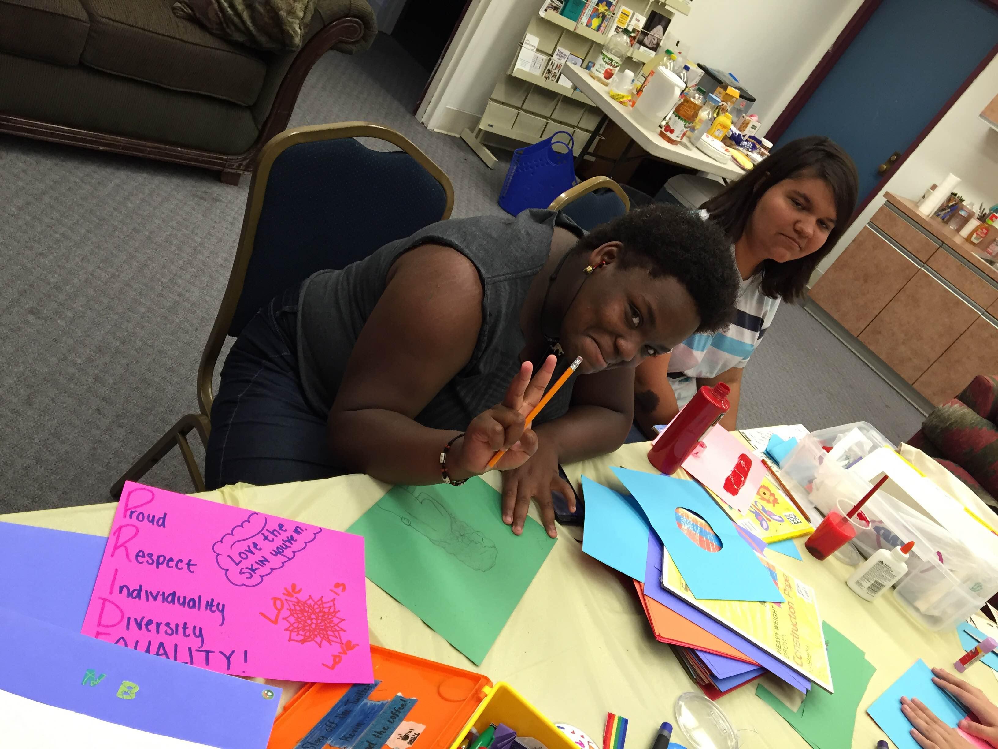 Empowerment Creating Pride Art