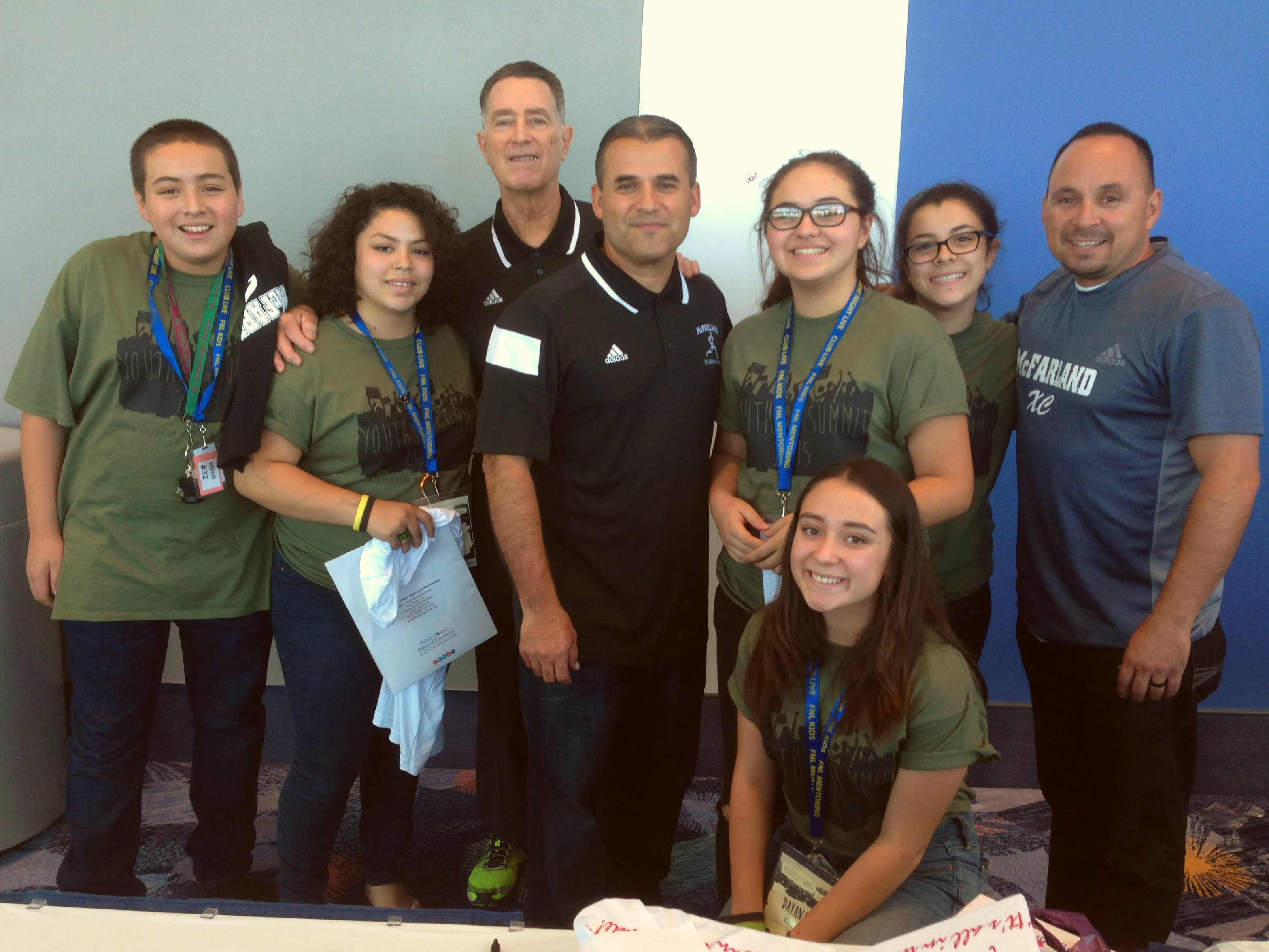 "FNL Students Meeting the Real Members of ""Mcfarland USA"""