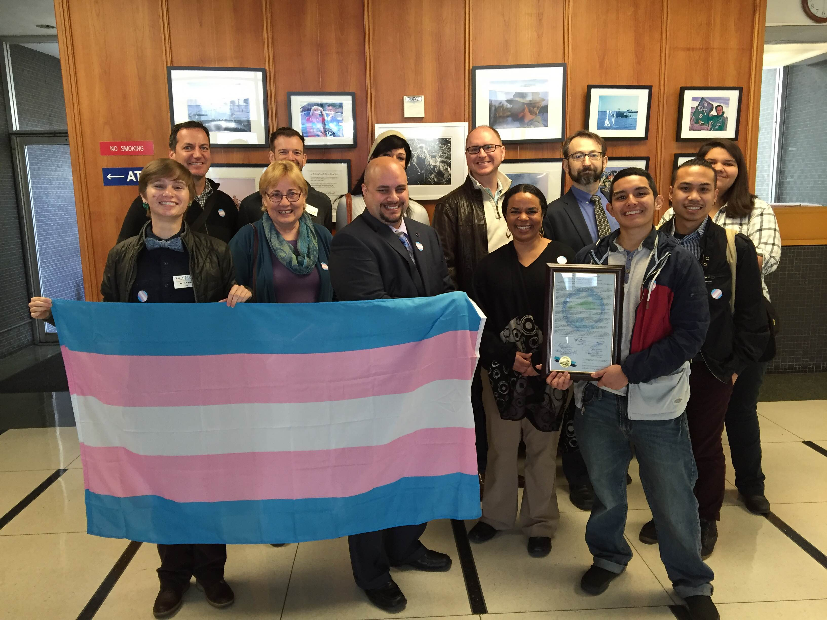 Contra Costa Board of Supervisors International Transgender Day Proclamation