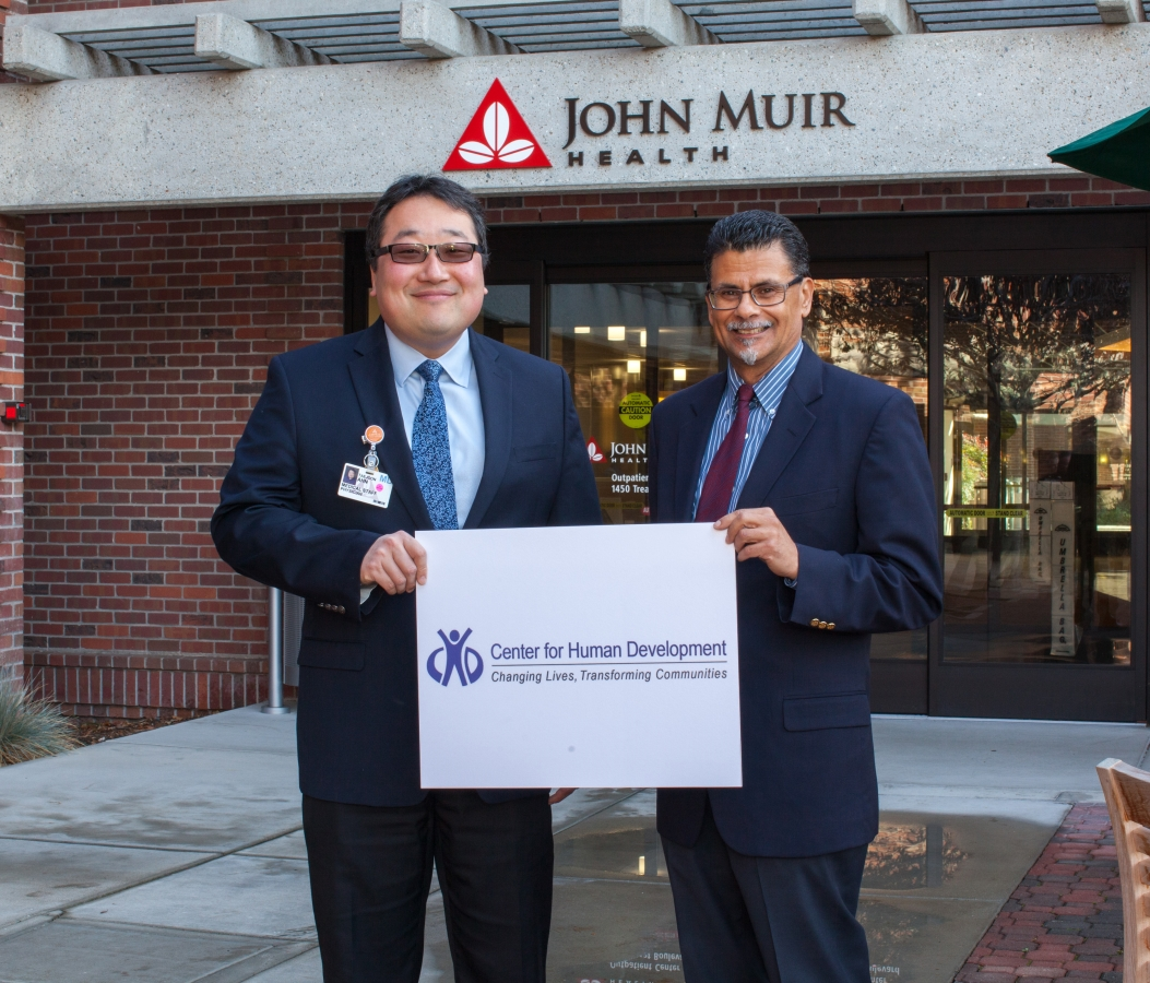 John Muir Health Donates to CHD in Honor of MLK Day